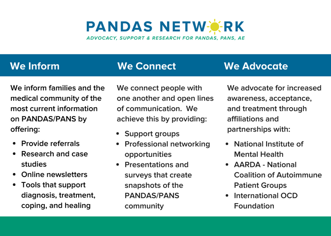 Patient Brochures and Printables – PANDAS Network
